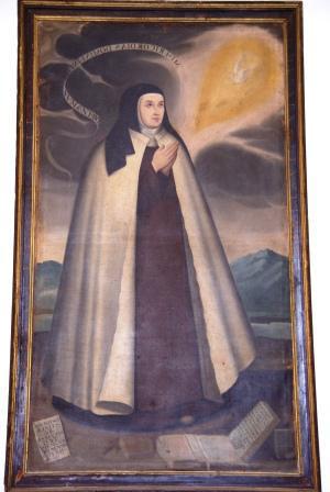 La fiesta de Santa Teresa de Avila se celebra en la parroquia