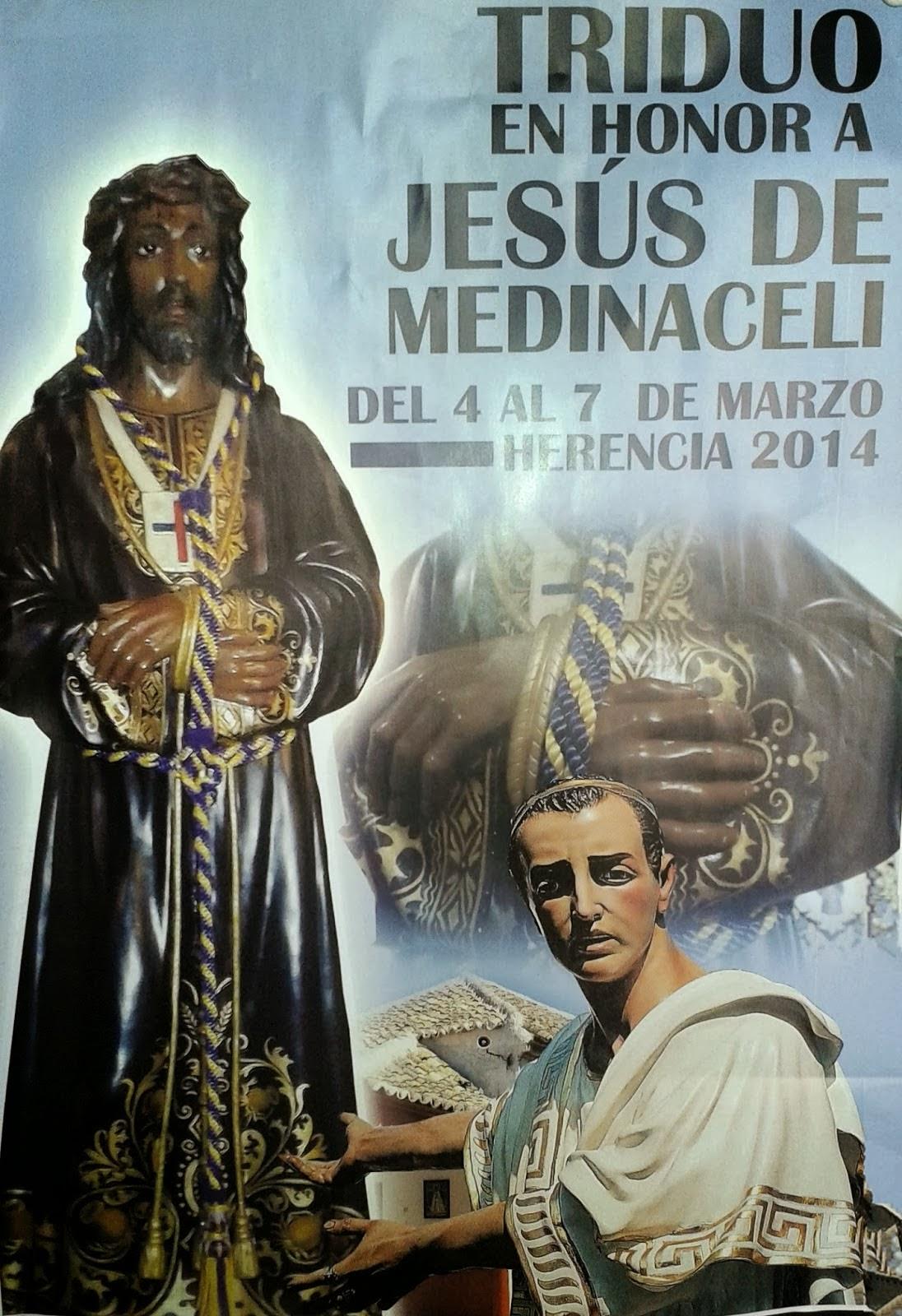 Triduo y Via Crucis con la imagen de Jesús de Medinaceli